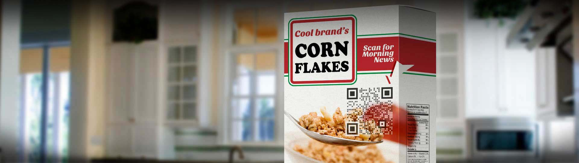 Visual QR Code packaging