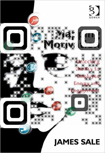 Mapping Motivation Book qrcode design
